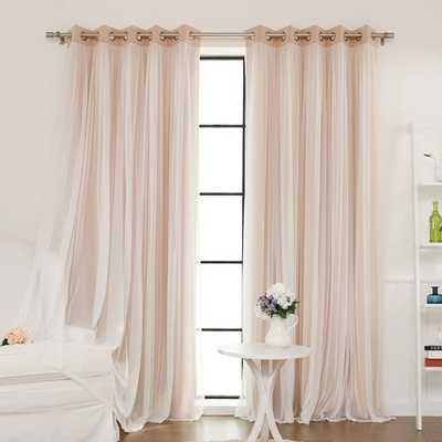 Brockham Thermal Grommet Curtain Panels - Wayfair