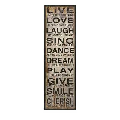 Live Love Laugh Wall Decor - Mercer Collection