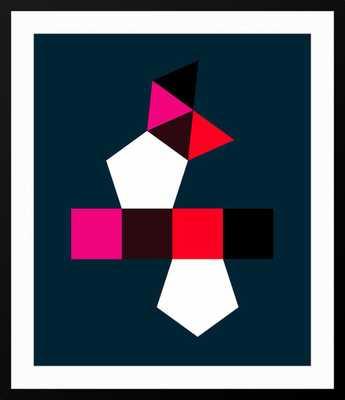 AUGMENTED PENTAGONAL PRISM - 23.5x19.6 - Black frame - Artstar