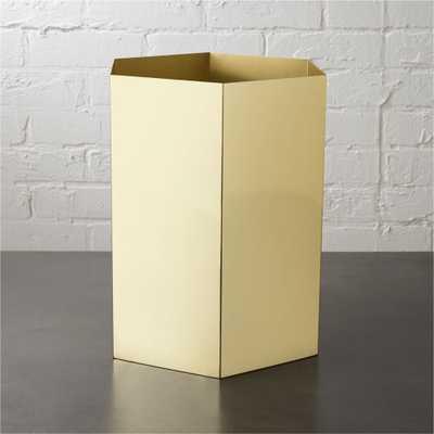 pilar wastecan - CB2