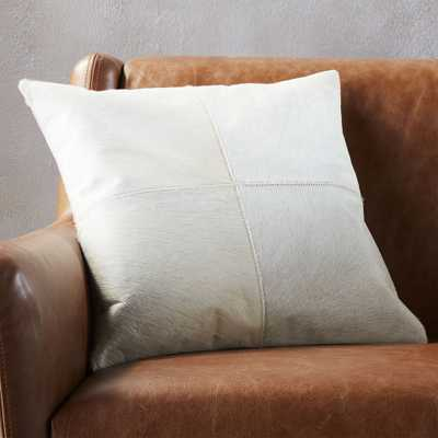 """""""18"""""""" abele pillow with feather-down insert"""" - CB2"""