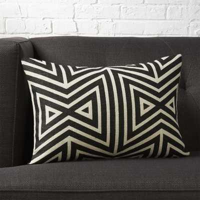 "18""x12"" Apani pillow with down-alternative insert - CB2"