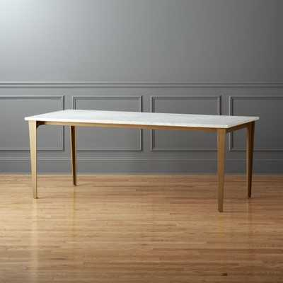 "paradigm 80"" dining table - CB2"