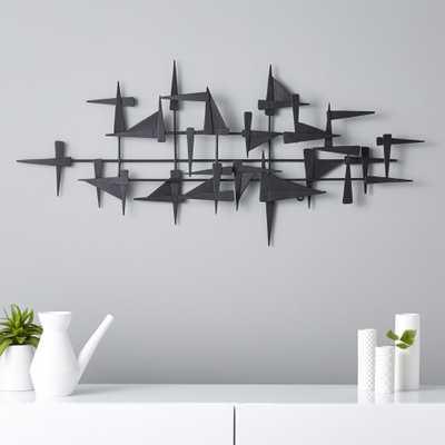 castile metal wall decor - CB2