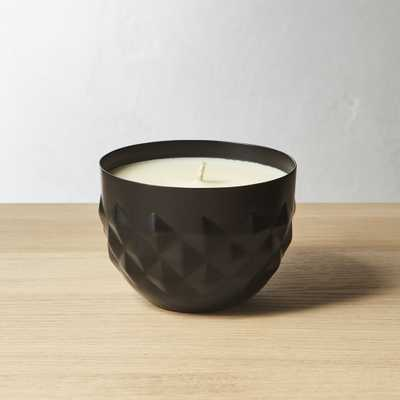 bergamont and fir soy candle - CB2