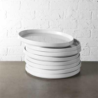 set of 8 frank dinner plates - CB2
