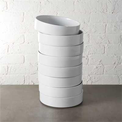 set of 8 frank soup bowls - CB2