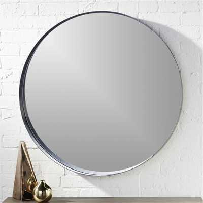 """crescent 32.5"""" round wall mirror"" - CB2"