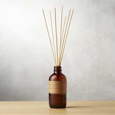 teakwood and tobacco reed diffuser - CB2