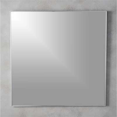 """infinity 31"""" square wall mirror"" - CB2"