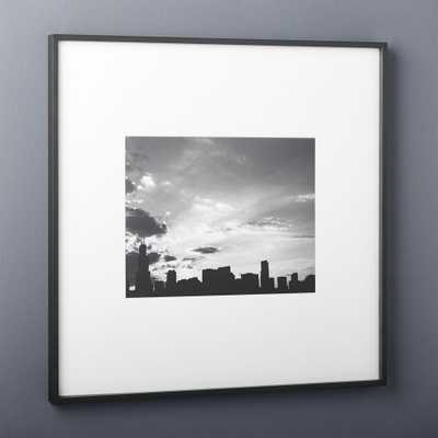 gallery black 11x14 picture frame - CB2