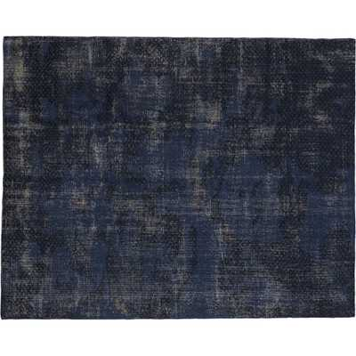 The Hill-Side disintegrated floral rug 8'x10' - CB2