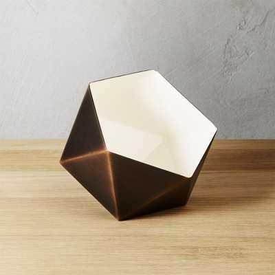 geodesic tea light candle holder - CB2