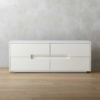 latitude white low dresser - CB2