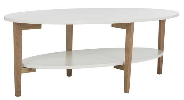 WOODRUFF OVAL COFFEE TABLE - Arlo Home