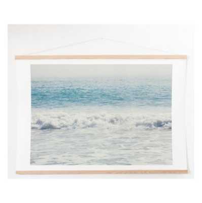 MALIBU WAVES Art Print And Hanger - Wander Print Co.