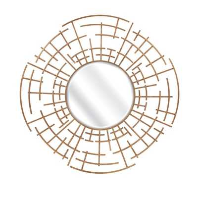 Estaire Dimensional Wall Mirror - Mercer Collection