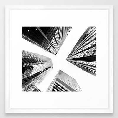"New York Buildings - 22"" x 22"" - Society6"