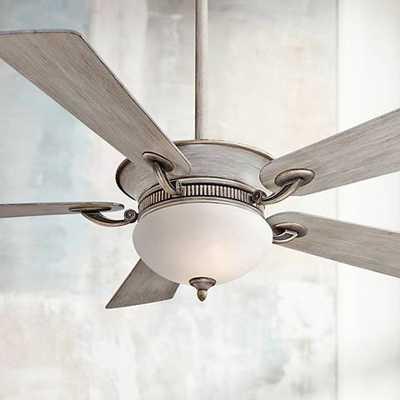 "52"" Minka Aire Delano Driftwood Ceiling Fan - Lamps Plus"