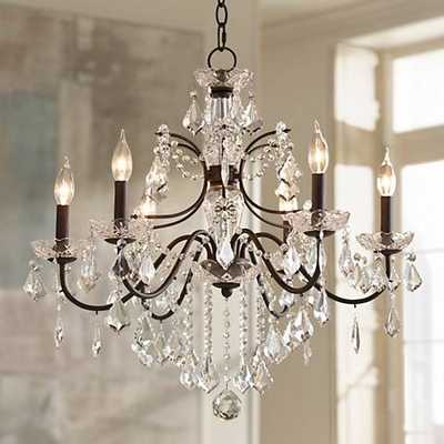 "Beverly 26"" Wide Crystal Chandelier - Lamps Plus"
