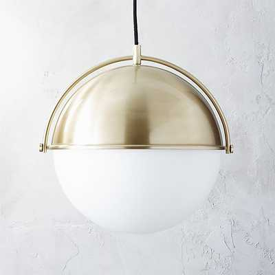Globe Pendant Light - CB2