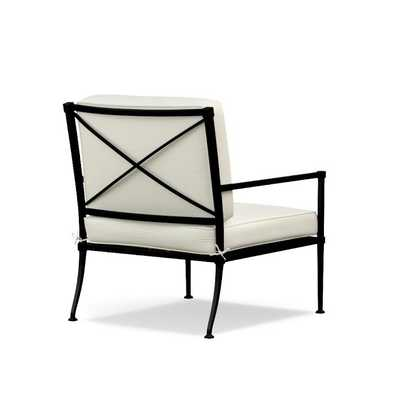 Bridgehampton Outdoor Club Chair - Black Frame - Williams Sonoma Home