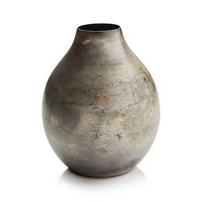 Bringham Metal Vases- Medium - Crate and Barrel