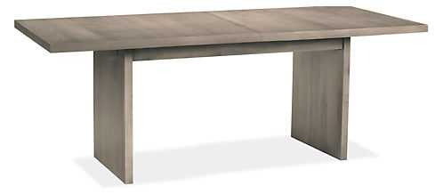 Corbett Extension Tables, Maple with shell stain - Room & Board