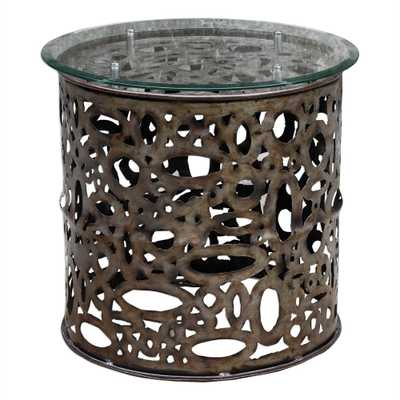 Zama Accent Table - Hudsonhill Foundry