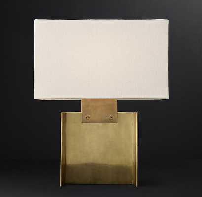 BEAM ACCENT LAMP - gold - RH Modern