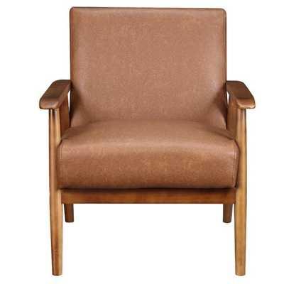 Barlow Arm Chair - cognac - Wayfair