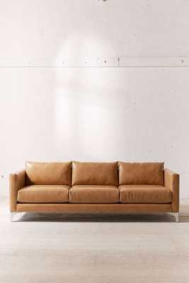 Chamberlin Recycled Leather Sofa - Urban Outfitters