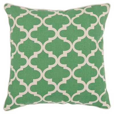 """Green Suzy S/2 Pillow Throw Pillow (18""""x18"""") - Safavieh - Target"""