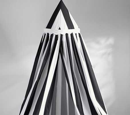 Black & White Striped Canopy - Pottery Barn Kids