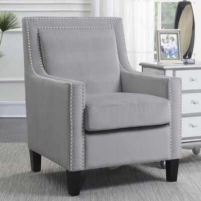 Trenton Velvet Arm Chair - Wayfair