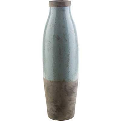 Evry Cylinder Ceramic Floor Vase - Wayfair