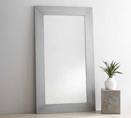 "GALVANIZED FLOOR MIRROR, 84 X 48"" - Pottery Barn"