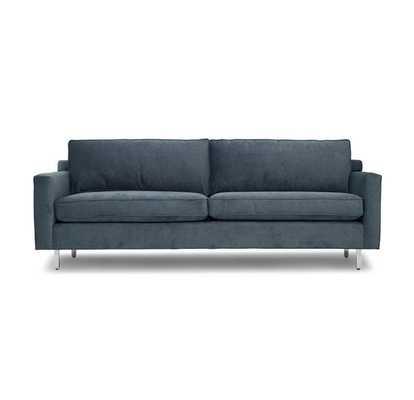Hunter Studio Sofa in Navy - Mitchell Gold + Bob Williams