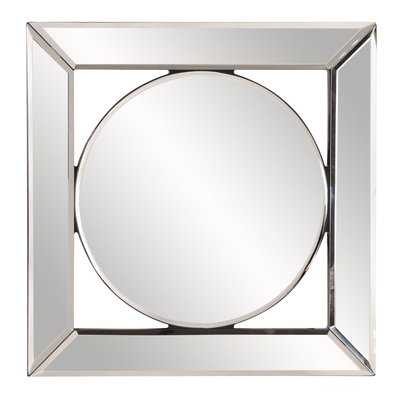 """Square Hanging Accent Mirror"" - Wayfair"