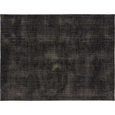 The Hill-Side Disintegrated Floral Grey Rug 9'x12' - CB2
