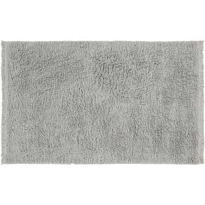 Plush Wool Shag Grey Rug 9'x12' - CB2