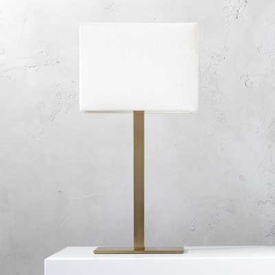 John Bronze Table Lamp - CB2