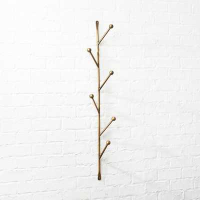 Barker Vertical Wall Mounted Coat Rack - CB2