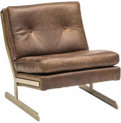 Lance Leather Chair - High Fashion Home