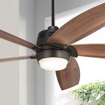 """56"""" Casa Ecanto™ Oil-Rubbed Bronze LED Ceiling Fan - Lamps Plus"""