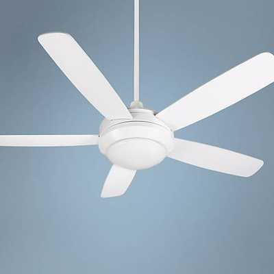 """52"""" Craftmade Helios White Ceiling Fan - Lamps Plus"""