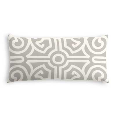 Lumbar Pillow - Tobi Fairley Anne, Mineral - Down Insert - Loom Decor