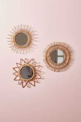 Magical Thinking Woven Wall Mirror - Burst - Urban Outfitters