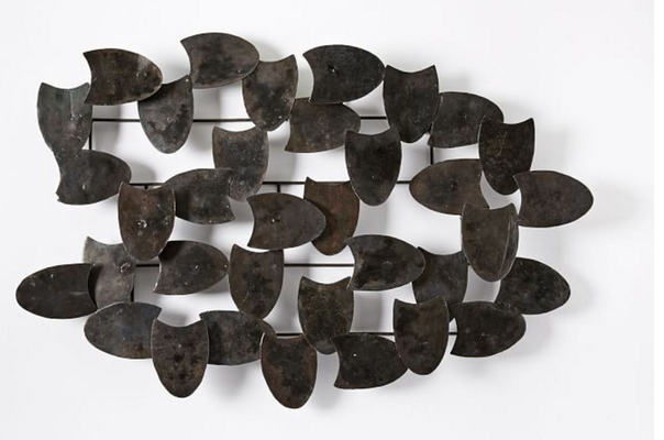 Recycled Metal Wall Art - Overlapping Shapes - West Elm