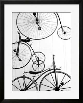 Bicycle Display at Swiss Transport Museum 30x40 - art.com